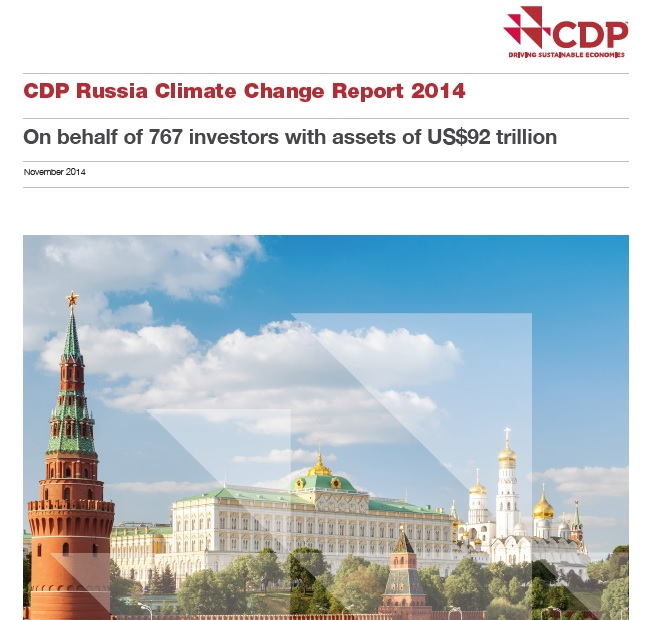CDP Russia Climate Change Report 2014